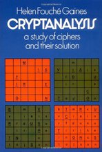 Cover of Cryptanalysis: A Study of Ciphers and Their Solution