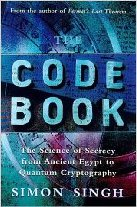 Cover of The Code Book: The Science of Secrecy from Ancient Egypt to Quantum Cryptography