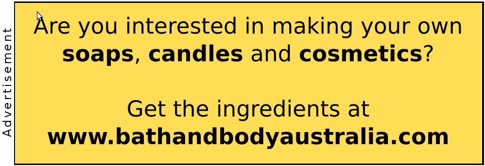 advertisement for www.bathandbodyaustralia.com